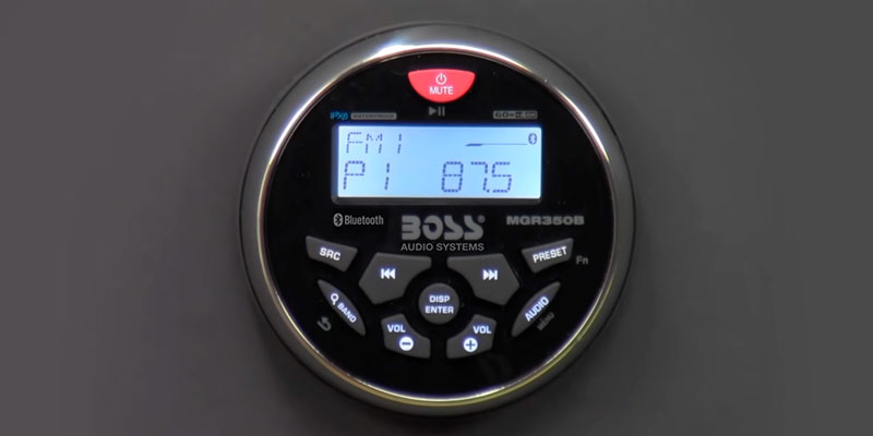 Review of Boss MGR350B Weatherproof Digital Media MP3 Player