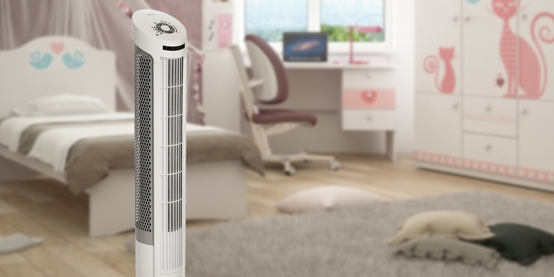 Detailed review of Seville Classics 40-Inch Oscillating Tower Fan