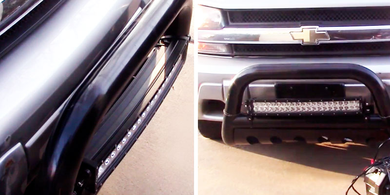 "Mictuning 22"" Light Bar application"