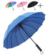 Saiveina Auto Open Straight Umbrella