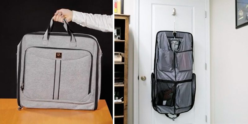 Review of ZEGUR Suit Carry On Garment Bag for Travel and Business Trips