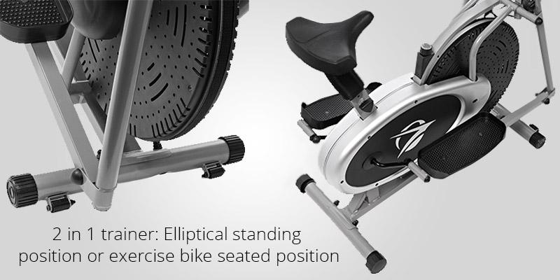 Review of Plasma Fit Elliptical Machine Trainer 2 in 1