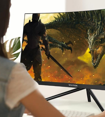 Review of Viotek GN24C 144hz Curved Gaming Monitor