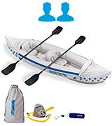 Sea Eagle SE-330 Inflatable Kayak with Deluxe Package
