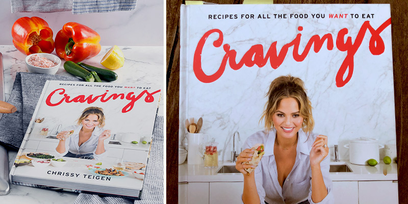 Review of Chrissy Teigen Cravings: Hardcover Recipes for All the Food You Want to Eat