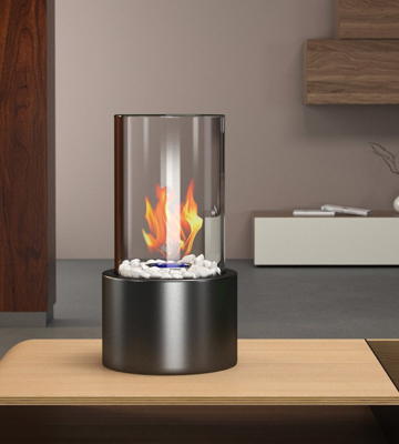 Review of Regal Flame ET7001BLK Eden Ventless Tabletop Bio Ethanol Fireplace