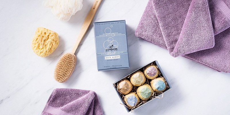 Review of ArtNaturals ANGA-0401-VE Bath Bombs Gift Set