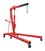 Titan Attachments 1SHOP1-1SHOP2 Steel Engine Hoist, 1 Ton