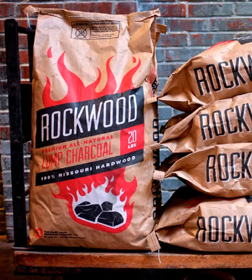 Review of Rockwood 20LB All-Natural Hardwood Lump Charcoal