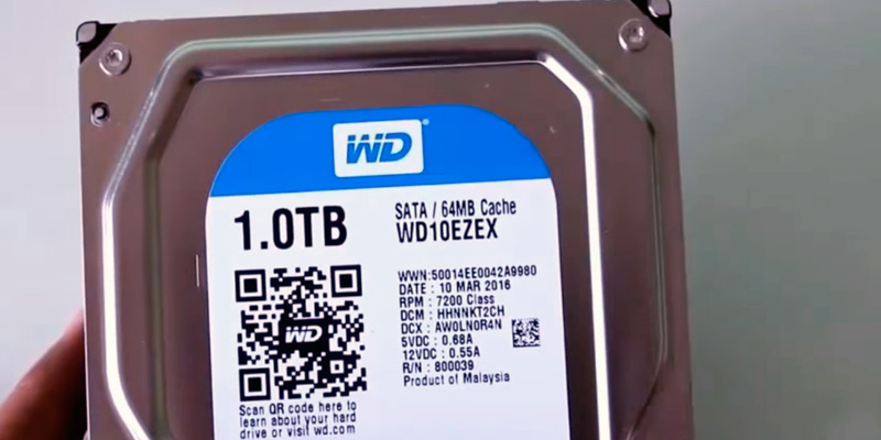 Review of Western Digital Blue 1TB PC Hard Drive