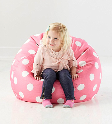 Review of Big Joe 0630251 Classic Bean Bag Chair, Candy Pink Polka Dot