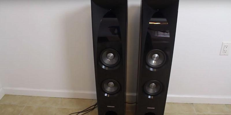 Review of Samsung TW-J5500 2.2 Channel Wired Audio Sound Tower