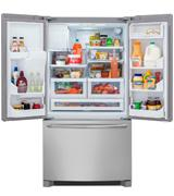 Frigidaire 22.6 Cu.Ft. Counter Depth French Door Refrigerator