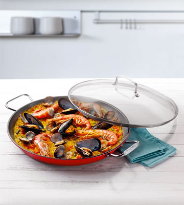 Review of Cuisinart Non-Stick Paella Pan