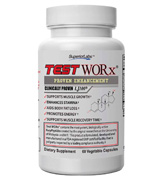 Superior Labs 60 Caplets TEST WORx Natural Testosterone Booster