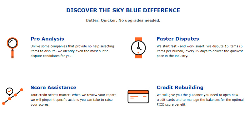 Review of Sky Blue Credit Repair Services