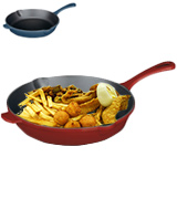 Cuisinart CI22-24CR Enameled Cast Iron Fry Pan