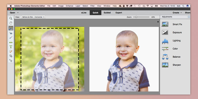 Detailed review of Adobe Photoshop Elements 2018 Easy Photo Editing & Collage Maker