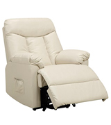 ProLounge RCL9-DAB25 Renu Leather Power Recline and Lift Wall Hugger Chair