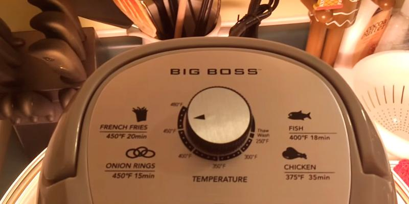 Detailed review of Big Boss 9228 Oil-Less Air Fryer