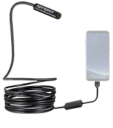 Fantronics (8595730525) Android USB-C Borescope (8 LED Lights, IP67, 16.4ft)