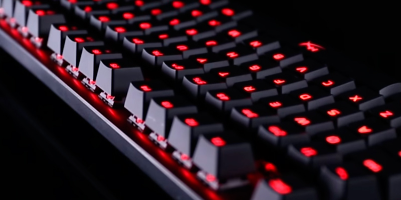 HyperX Alloy FPS Pro Tenkeyless Gaming Keyboard in the use