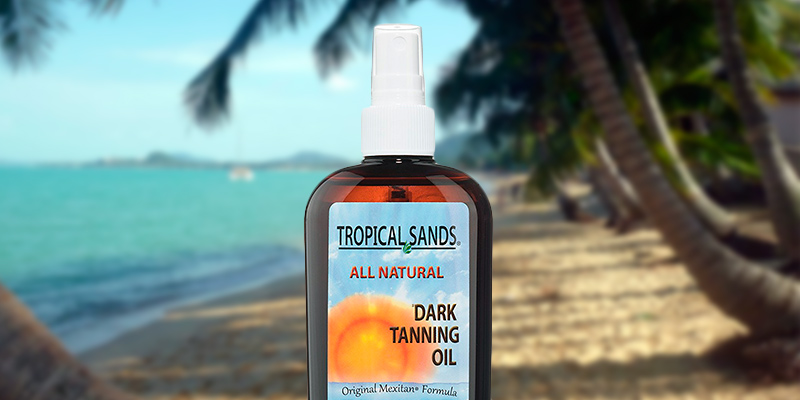 Review of Tropical Sands Dark Tanning Oil Coconut Oil for Tanning Bed