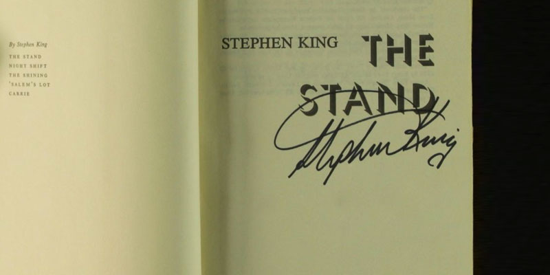 "Stephen King ""The Stand: The Complete and Uncut Edition"" in the use"