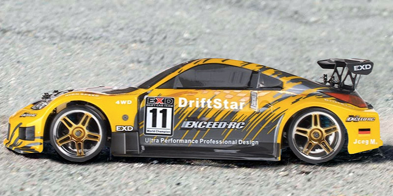 Exceed RC Electric DriftStar RTR application
