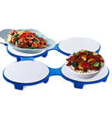 HotMat Electric Blue Food Warming Tray
