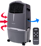Honeywell CO30XE Indoor/Outdoor Evaporative Cooler (525 CFM)