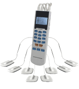 HealthmateForever Electronic Pulse Massager for Electrotherapy Pain Management -- Pain Relief Therapy
