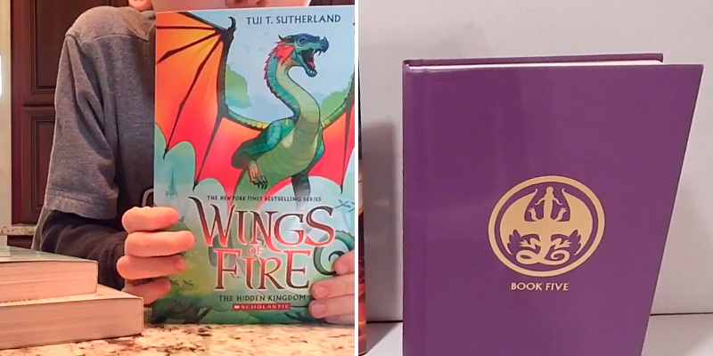 Detailed review of Tui T. Sutherland Wings of Fire Boxset