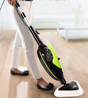 Review of SKG SK201225 Powerful Non-Chemical 212F Hot Steam Mops & Carpet and Floor Cleaning Machines