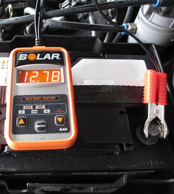 Review of Clore Automotive SOLAR BA5 Electronic Battery Tester