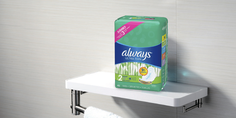 Review of Always 126Pcs Super Absorbency Ultra Thin Feminine Pads with Wings