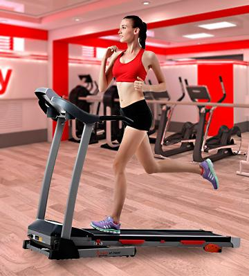 Review of Sunny Health & Fitness SF-T4400 Treadmill