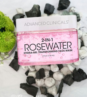 Review of Advanced Clinicals Rosewater Face Mask