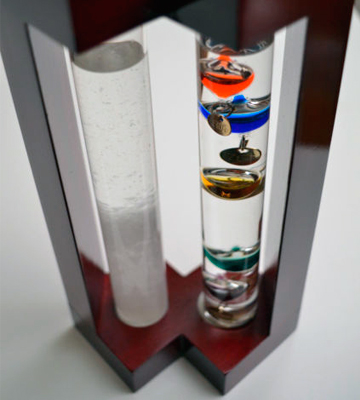 Review of Lily's Home SW997 Admiral Fitzroy's Storm Glass and Galileo Thermometer