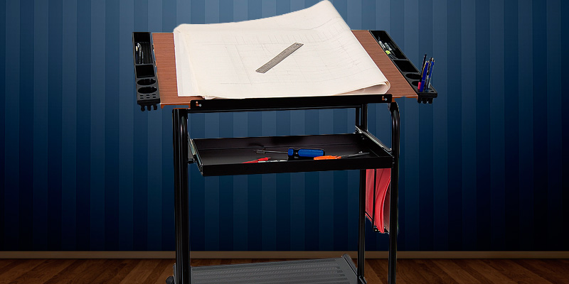 Detailed review of Flash Furniture NAN-JN-2739-GG Drawing / Drafting Table