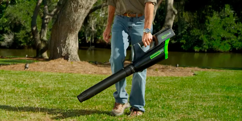 Review of GreenWorks GBL80300 PRO 80V 125 MPH - 500 CFM Cordless Blower, 2.0 AH Battery Included
