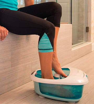 Review of HoMedics FB- 600 Foot Salon Pro Pedicure Spa