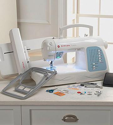 Review of SINGER Futura XL-400 Computerized Sewing and Embroidery Machine