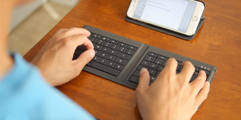 Detailed review of Microsoft GU5-00001 Universal Foldable Keyboard