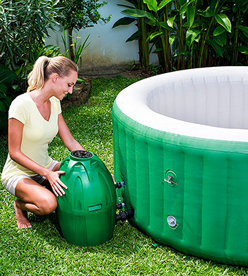 Review of Coleman 54131E SaluSpa Inflatable Hot Tub