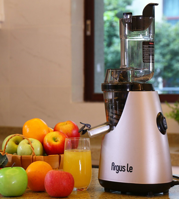 Review of Argus Le AL-B6000 Masticating Juicer with 3 Big Mouth Whole