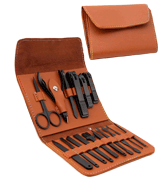 AIWOGEP 16 Pieces Manicure Set with PU Leather Case