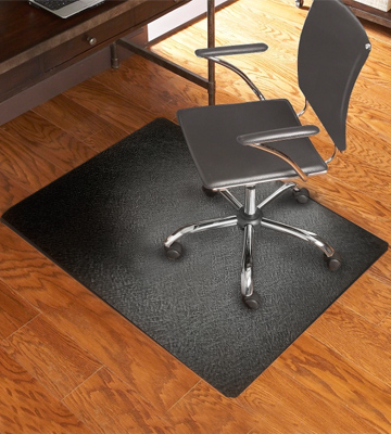 Review of Lesonic 47 x 35 Rectangular Office Chair Mat for Hardwood and Tile Floor