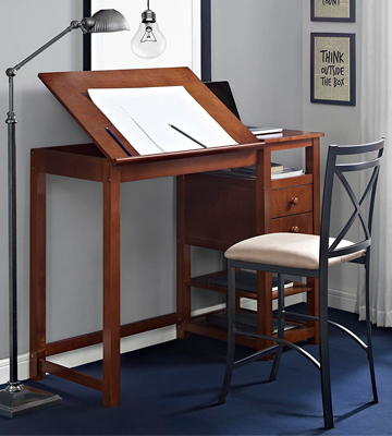 Review of Dorel Living Wood Drafting Desk