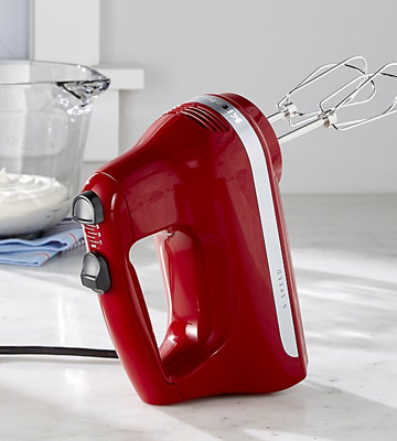 Review of KitchenAid KHM512 5-Speed Ultra Power Hand Mixer, Empire Red